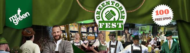 Celebrate Greentober at Mr Green Casino