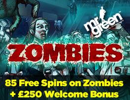 Get 85 Free Spins on Starburst + a £250 Welcome Bonus at Mr Green Casino