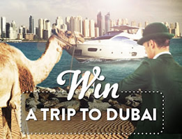 Win A Trip to Dubai by depositing at Mr Green Casino
